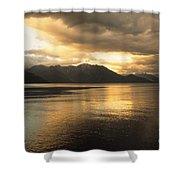 Lake Todos Los Santos Chile Shower Curtain