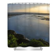 Lake Travis Sunset Shower Curtain