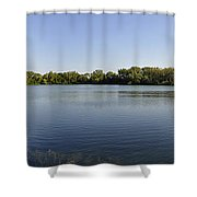 Lake Victory Shower Curtain