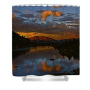 Lake View 2 Shower Curtain