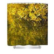 Lake Winona Autumn 12 Shower Curtain