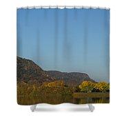 Lake Winona Autumn 6 Shower Curtain