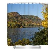 Lake Winona Autumn 9 Shower Curtain