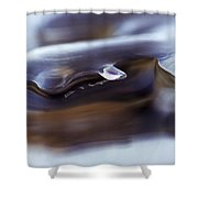 Lakeice38 Shower Curtain