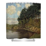 Lakeland In Berlin Shower Curtain
