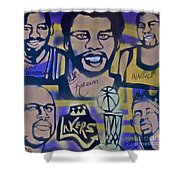 Laker Love Shower Curtain