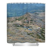 Lakes Of The Clouds - Mount Washington New Hampshire Usa Shower Curtain