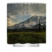 Lakes Trail Soaring Skies Shower Curtain