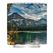 Lakeshore Shower Curtain by Robert Bales