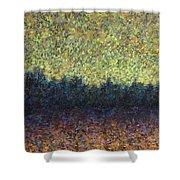 Lakeshore Sunset Shower Curtain