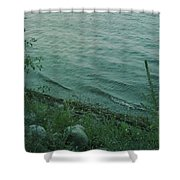 Lakeside At Dusk Shower Curtain