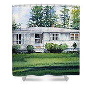Lakeside Cottage Shower Curtain
