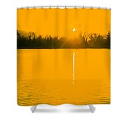 Lakeside Tower Shower Curtain