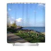 Lakeside Walk Shower Curtain