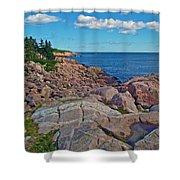 Lakies Head In Cape Breton Highlands Np-ns Shower Curtain