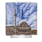 Laleli Tulip Mosque In Istanbul Shower Curtain