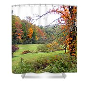 Lamance Valley In The Fall Shower Curtain