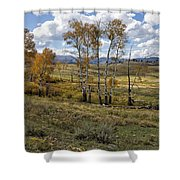 Lamar Valley In The Fall - Yellowstone Shower Curtain