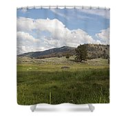 Lamar Valley No. 2 Shower Curtain
