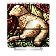 Lamb Of God Shower Curtain