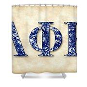 Lambda Phi Epsilon - Parchment Shower Curtain
