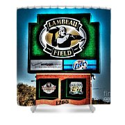 Lambeau Field Entrance Shower Curtain