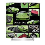 Lambo - Murci-me - Poster Shower Curtain