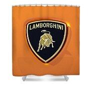 Lamborghini Emblem -0525c55 Shower Curtain