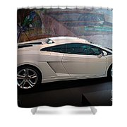 Lamborghini Gallardo Lp550-2 Side View Shower Curtain