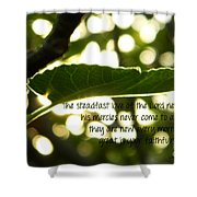 Lamentations 3 Shower Curtain