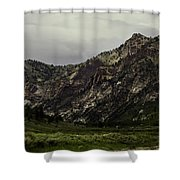 Lamoille Canyon End Shower Curtain