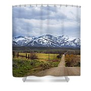 Lamoille  Shower Curtain