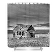 Lamoine School House - Lamoine - Washington - May 2013 Shower Curtain
