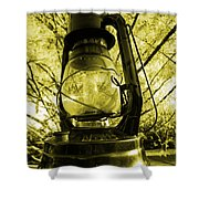 Lamp No.8 Shower Curtain