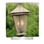 Lamp Post Shower Curtain
