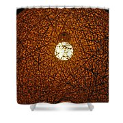 Lamp Tangle Shower Curtain