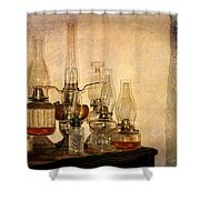 Lamps And Lace Shower Curtain