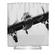 Lancaster Bomber Shower Curtain