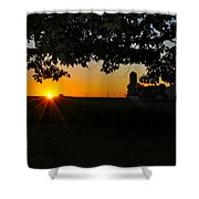 Lancaster County Morning Shower Curtain