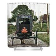 Lancaster Roads Shower Curtain