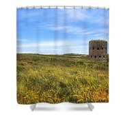 L'ancresse Bay - Guernsey Shower Curtain