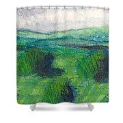 Land 1 Shower Curtain