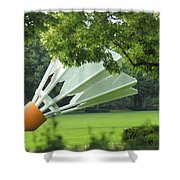 Land Of Giants Shower Curtain