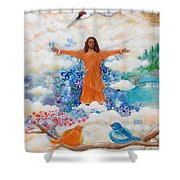 Land Of Mystery Shower Curtain
