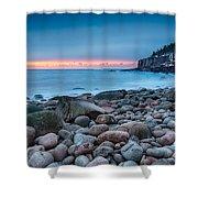 Land Of Sunrise Shower Curtain