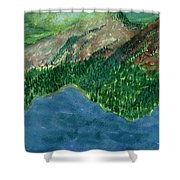 Land Of Time Shower Curtain