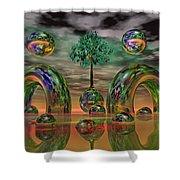 Land Of World 8624036 Shower Curtain