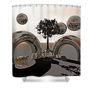 Land Of World 8624038 Racing Shower Curtain