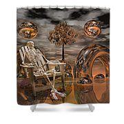 Land Of World 86240440 With Sam Shower Curtain