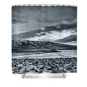 Land Shapes 12 Shower Curtain